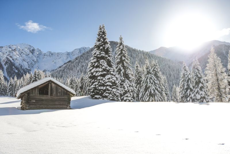 Relaxing winter holidays in the South Tyrol mountains